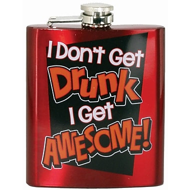 Spoontiques I Don't Get Drunk Hip Flask (15774)