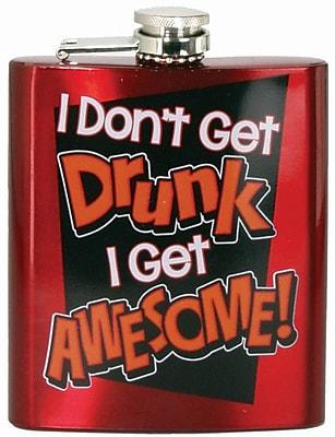 Spoontiques I Don't Get Drunk Hip Flask (15774)