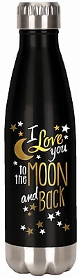 Spoontiques Moon & Back 18oz Stainless Steel Bottle (20611)