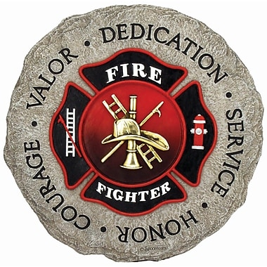 Spoontiques Firefighter Stepping Stone (12940)