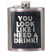 Spoontiques I Need a Drink Hip Flask (15745)