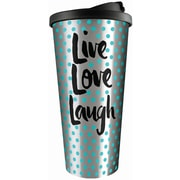 Spoontiques Live Love Laugh Stainless Travel Mug (20809)