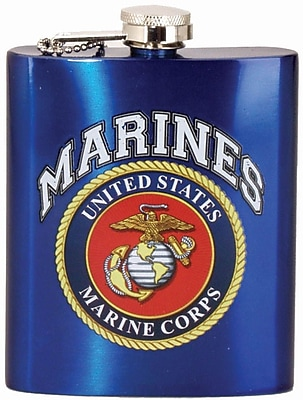 Spoontiques U.S. Marines™ Hip Flask (15671)
