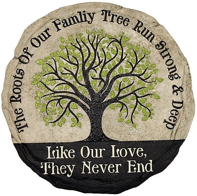 Spoontiques Family Tree Stepping Stone (13365)