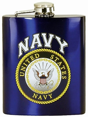 Spoontiques U.S. Navy Hip Flask (15757)