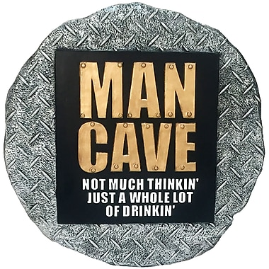 Spoontiques Man Cave Stepping Stone (13392)