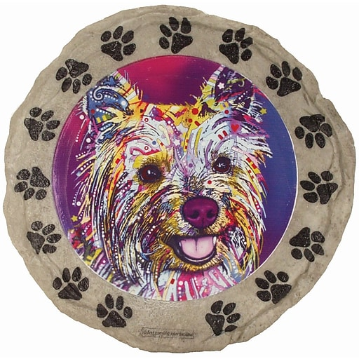 Spoontiques Dean Russo™ Yorkie Stepping Stone (13295)