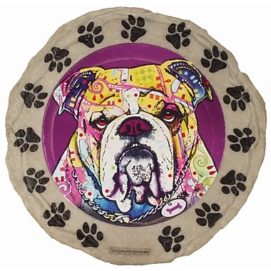 Spoontiques Dean Russo™ Bulldog Stepping Stone (13289)