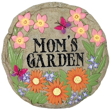 Spoontiques Mom's Garden Stepping Stone (13342)