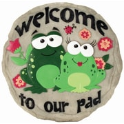 Spoontiques Welcome to Our Pad Stepping Stone (13276)