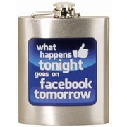 Spoontiques Facebook Hip Flask (15758)