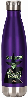 Spoontiques Wizard of Oz™ I'm a Witch 18oz Stainless Steel Bottle (20603)