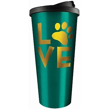 Spoontiques Love (Paw) Stainless Travel Mug (20806)