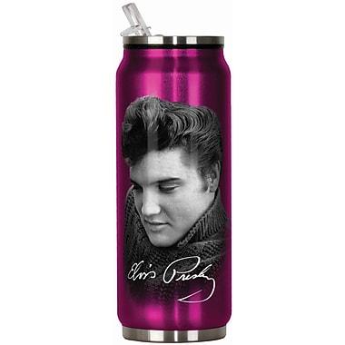 Spoontiques Elvis Presley™ 12oz Stainless Steel Beverage Can (20906)