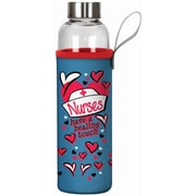 Spoontiques Nurses 20oz Glass Bottle with Sleeve (19909)
