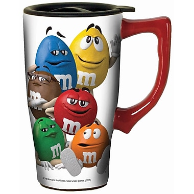 Spoontiques M&M's™ Characters Ceramic Travel Mug (12751)