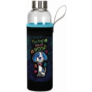 Spoontiques You Had Me at Woof 20oz Glass Bottle with Sleeve (19901)