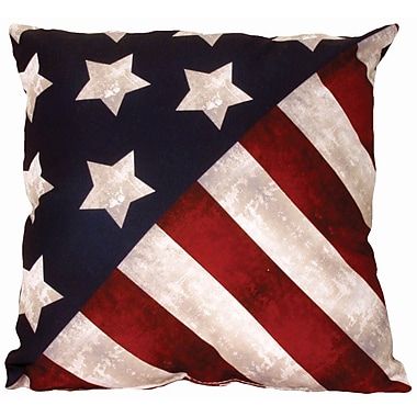 Spoontiques Stars & Stripes Pillow (19627)