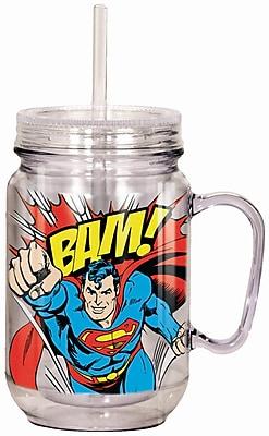 Spoontiques DC Comics™ Superman™ 18oz Acrylic Mason Jar (17964)