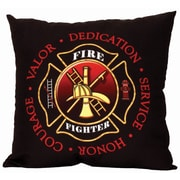 Spoontiques Firefighter Pillow (19614)