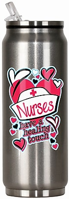 Spoontiques Nurses 12oz Stainless Steel Beverage Can (20907)