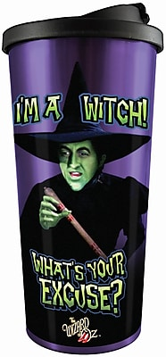 Spoontiques Wizard of Oz™ I'm a Witch Stainless Travel Mug (20826)
