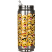 Spoontiques Emojis 12oz Stainless Steel Beverage Can (20911)