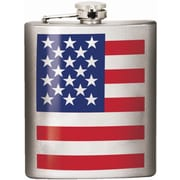 Spoontiques American Flag Hip Flask (15660)
