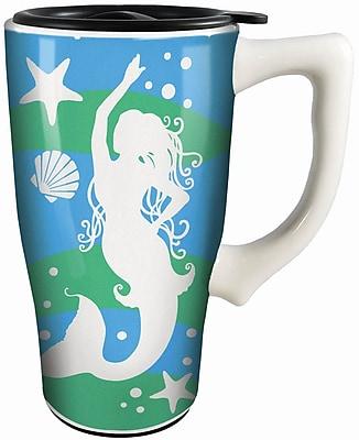 Spoontiques Mermaid Ceramic Travel Mug (12781)