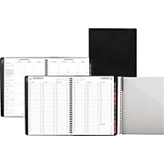 "2020 Day-Timer 8"" x 11"" Weekly/Monthly Appointment Book, Fashion, Black (33351-2001)"
