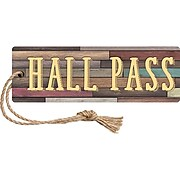 Teacher Created Resources Home Sweet Classroom Magnetic Hall Pass, 6/Pack (TCR77357BN)