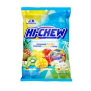 Hi-Chew Fruit Chews Tropical Peg Bag 3.53 oz, 6 Count (MOR00434)