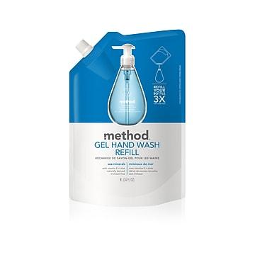 Method Hand Soap Refill, Sea Minerals, 34 oz (00653)