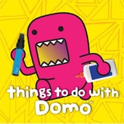 Abrams Books Things To Do With Domo Activity BookHCTB475