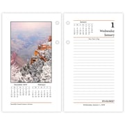 6 x 6 One Page Per Day,Today is Design AT-A-GLANCE 2020 Daily Wall Calendar Refill K1-50 Mini