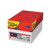 "Appleton NCR Superior 8.5"" x 11"" Carbonless Paper, 22 Lbs., 92 Brightness, 501 Sheets/Ream, 10 Reams/Carton (5900NCASE)"