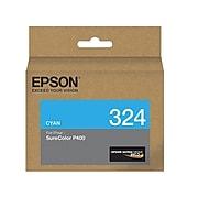Epson T324 Ultrachrome Cyan Standard Yield Ink Cartridge (T3204220)