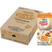 Coffee-mate Hazelnut Liquid Creamer, 0.38 Oz., 200/Carton (NES35180CT)