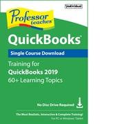 Individual Software Professor Teaches QuickBooks 2019 for Windows (1 User) [Download]