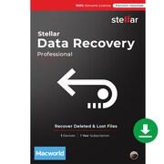 Stellar Data Recovery Professional for 1 User, Mac, Download (SPMDRV92018)