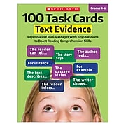Scholastic 100 Task Cards: Text Evidence (SC-811301)