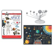 Round World Products Wonders of Learning Tin Set, Discover Space, 2 Sets (RWPTS04BN)