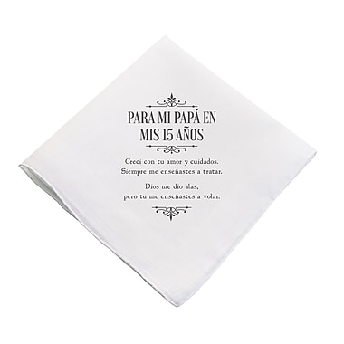 Lillian Rose Mis Quince Anos Father's Hankie (QA790 HD)