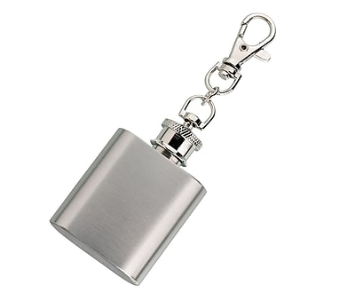 Lillian Rose Mini Silver Flask (FL671)