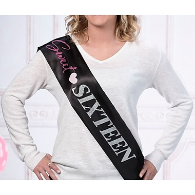 Lillian Rose Sweet Sixteen Sash (SS790 SA)