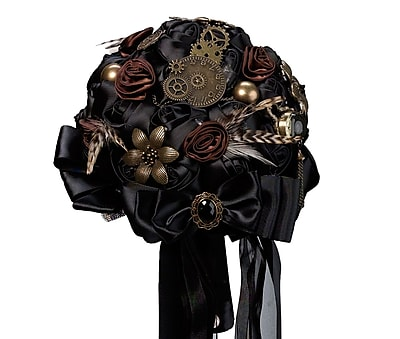 Lillian Rose Steampunk Wedding Bouquet (BQ270) 2621893