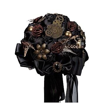 Lillian Rose Steampunk Wedding Bouquet (BQ270)