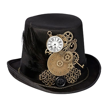 Lillian Rose Steampunk Top Hat Ring Holder (RA270)