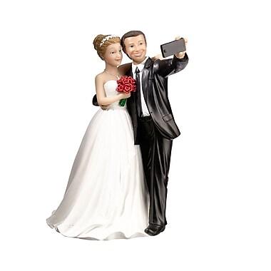 Lillian Rose Selfie Couple Caketop Figurine (F988)