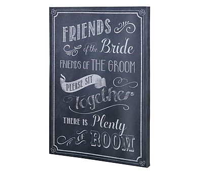 Lillian Rose Wedding Ceremony Seating Sign (SI505 SB)